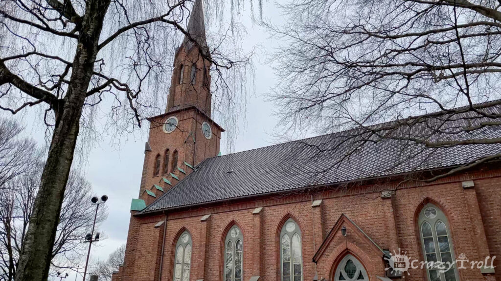 Tønsberg Cathedral in city center