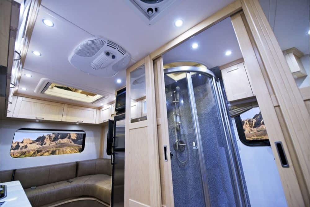 How Do Showers Work In A Motorhome?