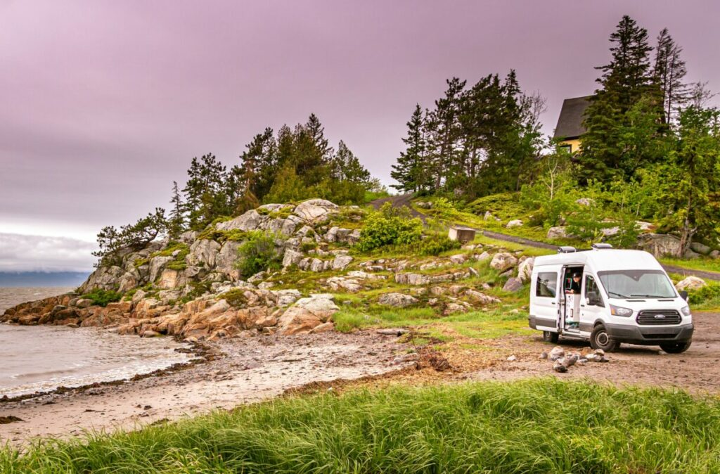 4×4, 4WD or AWD Vans for camping