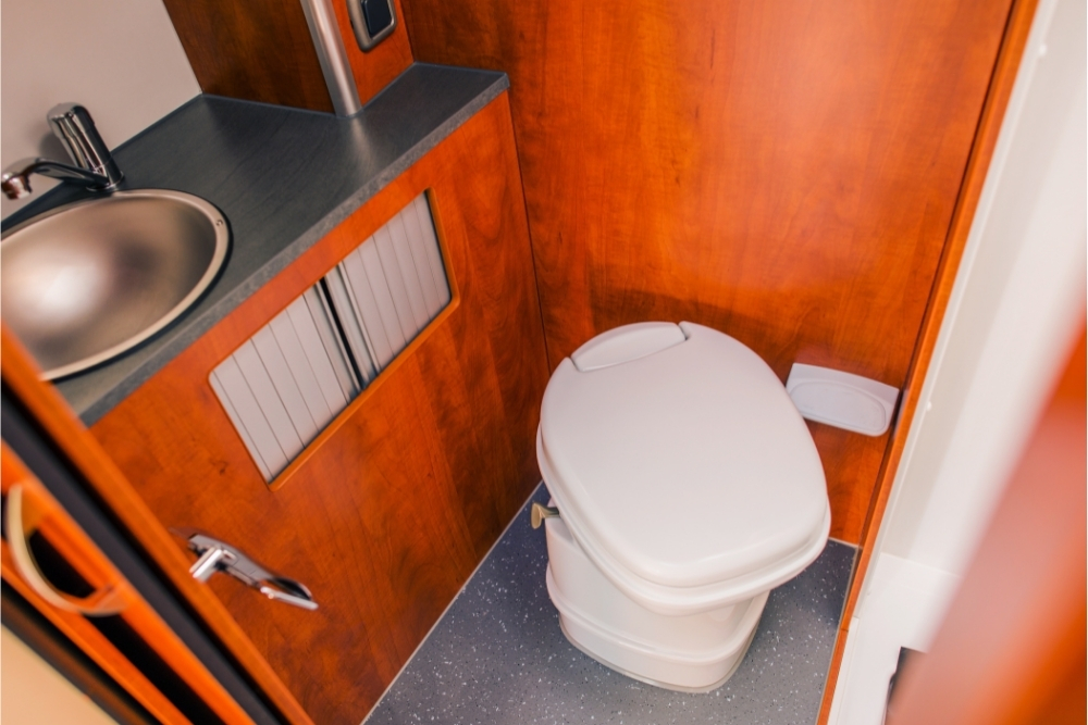 Can You Use RV Toilet While Driving?